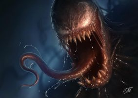 Venom Close-up by Disse86