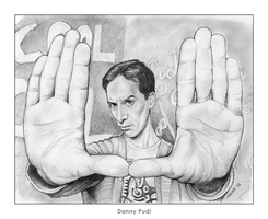 Danny Pudi by gregchapin