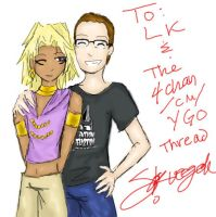 LK and Marik by squeegeek