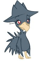 Murkrow by skeletall