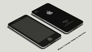 iPhone 5 Concept by andyhavoc