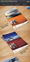 Travel Agency Corporate Flyer by Saptarang