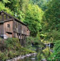 Old Mill by La-Vita-a-Bella