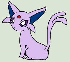 2nd Psychic - Espeon by PlushBuddies