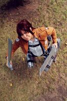Attack on Titan - Sasha Braus Cosplay by zahnpasta