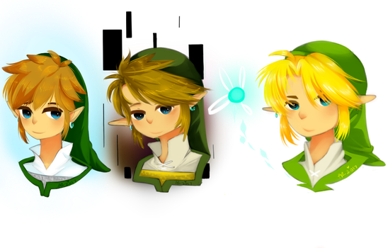 Painting Links Test by Aryll-nya