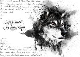Just-a-wolf-by-lonerrami by LONERRAMI