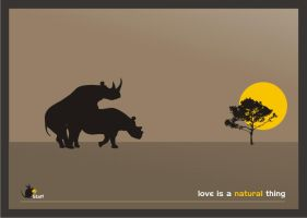 Love is a natural thing by propagate