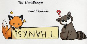 Thank You, SilentReaper by HJSoulma