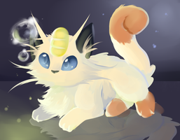 25 Meowth by SkittyStrawberries