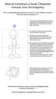 How to Draw Sonic the Hedgehog by Frankyding90
