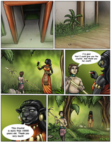 The Lost Golden Staff of The Dragon Queen 76-80 by DragonessLife