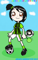 SOCCER PLAYER LILY by HOBYMIIOFFICIEL