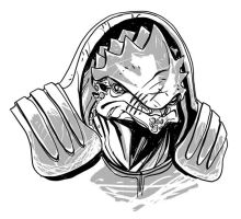 The Krogan from Mass Effect by Miketron2000