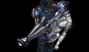 Liara T'Soni Recovered 3 by FallenParty