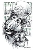 ALF by harveytsketchbook
