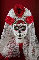 Purity-Day of the Dead Mask by EffigyMasks