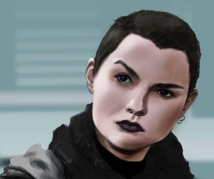 Negasonic Teenage Warhead by DarkATX