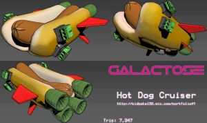 Galactose: Hot Dog Cruiser by sidx30
