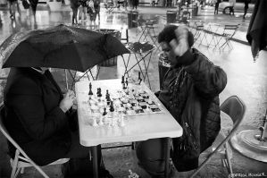 Chess players by PatrickMonnier