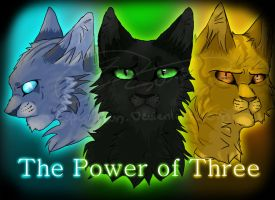 The Power Of Three [Speedpaint] by Espenfluss
