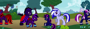 The Steele Family (Past) by Darkmaster0224