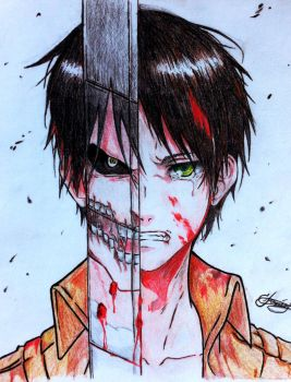 Eren Jaeger :3 by greataiden1