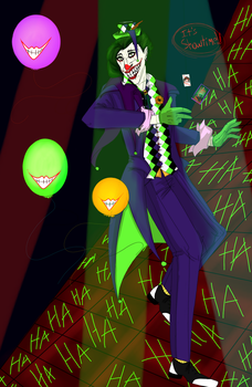 Joker *It's Party Time* by madamecorvus