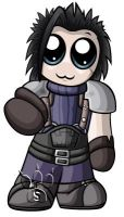 Zack Fair Chibi by RedPawDesigns