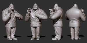 Mr. Walthersnap - ZBrush by JoseAlvesSilva