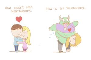 Troll Relationship by ReneeYV