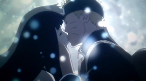 Naruto And Hinata Kiss-Naruto the last movie by RikuSky