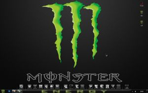 Desktop Monster Energy Carbon by x47xDiezel