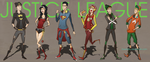 Young Urban Justice league by Doretetsu