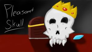 Pleasant Skull by Camcooney
