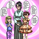 Annabell's in charge now! by thechesirelunatic