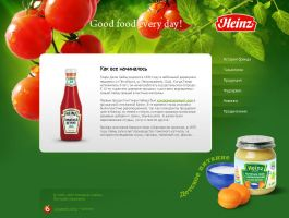 Heinz brand new site by abeer