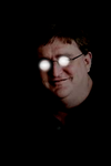 Gaben stares into your soul by Pootopolis14