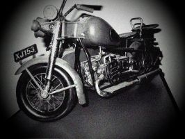 wartime BMW motorrad...its only a model by dieter0741
