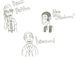 Community - Misc. Characters by TurboTony00