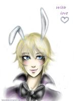 Alois Trancy - bunny by SamantaSam