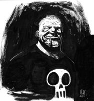 Old Frank Castle by mxm91
