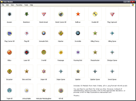RESOURCE - Halo Medals by Pokehkins