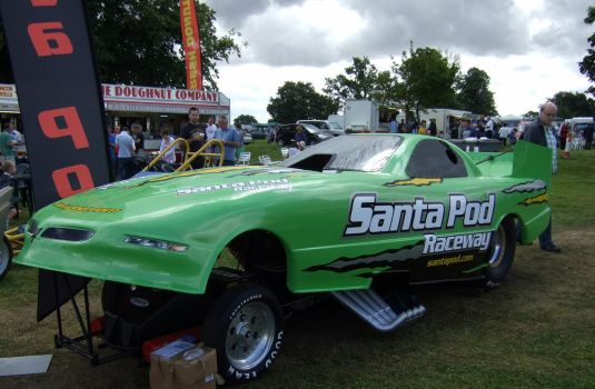 funny car hot rod show by Sceptre63