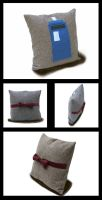 The 11th Doctor Pillow by lost-in-twos