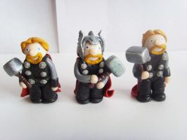 The Mighty Thor(s) by tyney123