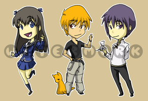 Stickers: Fruits Basket by forte-girl7