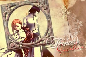 Ulquiorra and Orihime by WhiteMoon06
