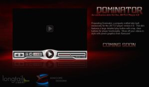 Dominator - FLV Player Skin by Axertion