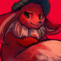 Pokesona in Red by honrupi